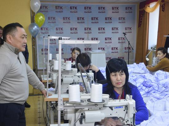 В Туве открыто новое швейное производство